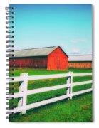 Tobacco Barns Spiral Notebook