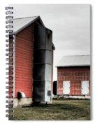 Tobacco Sheds Spiral Notebook