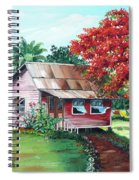 Tobago Country House Spiral Notebook