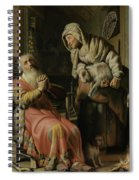 Tobit And Anna With The Kid Spiral Notebook