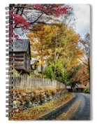 Toccoa River Road Spiral Notebook