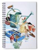 Todays Toil Tomorrows Pleasure IIi Spiral Notebook