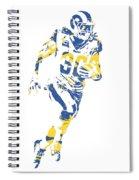 Todd Gurley Los Angeles Rams Pixel Art 30 Spiral Notebook