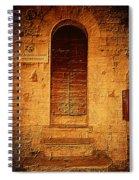 Todi Italy Medieval Door  Spiral Notebook