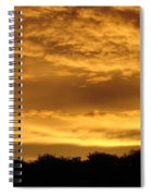 Toffee Sunset 3 Spiral Notebook