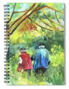 Together Old  In Italy 07 Spiral Notebook