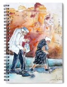 Together Old In Portugal 01 Spiral Notebook