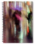 Together Under An Umbrella Spiral Notebook