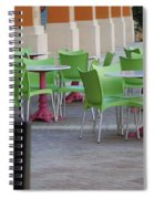 Token Chair Spiral Notebook