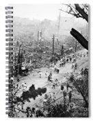 Tokyo Earthquake, 1923 Spiral Notebook