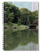 Tokyo Japanese Garden Spiral Notebook
