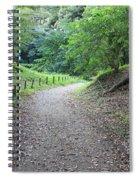 Tokyo Park Path Spiral Notebook