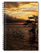Toledo Bend Sunset Spiral Notebook