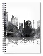 Toledo Ohio Skyline Spiral Notebook