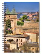 Toledo Town View Spiral Notebook