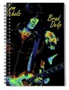 Tom And Brad In Spokane 3 Spiral Notebook