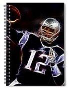 Tom Brady - New England Patriots Spiral Notebook