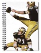 Tom Dempsey Spiral Notebook