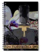 Tom Ford Black Orchid Spiral Notebook