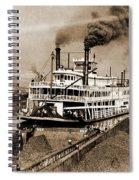 Tom Greene River Boat Spiral Notebook