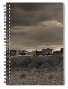 Tom Horn Set In Profile Mescal Arizona 1980 Spiral Notebook