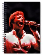 Tom Jones In Concert Spiral Notebook