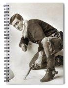 Tom Mix (1880-1944) Spiral Notebook
