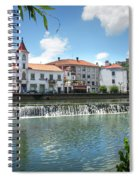 Tomar Cityscape Spiral Notebook