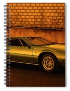 Tomaso Mangusta Mixed Media Spiral Notebook