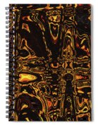 Tomatillo Abstract #2 Spiral Notebook