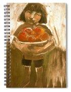Tomato Girl Spiral Notebook
