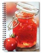 Tomato Jam In Glass Jar Spiral Notebook