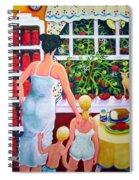 Tomato - Materphobia Spiral Notebook