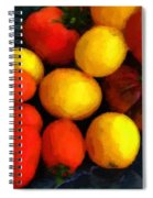 Tomatoes Matisse Spiral Notebook