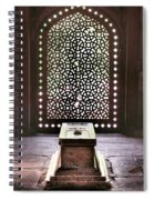 Tomb At The Humayun Temple Complex Spiral Notebook