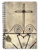 Tomb Door And Gate Spiral Notebook
