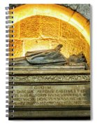 Tomb Of Dona Teresa Spiral Notebook