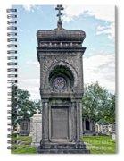 Tomb Of General P G T Beauregards Daughter Spiral Notebook
