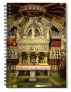 Tomb Of Saint Eulalia In The Crypt Of Barcelona Cathedral Spiral Notebook