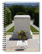 Tomb Of The Unknowns Spiral Notebook