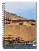 Tombs Of The Nobles Aswan Spiral Notebook