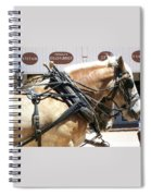 Tombstone Horse Spiral Notebook