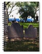 Tombstones Spiral Notebook