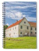 Tommarps Kungsgard Slott Spiral Notebook