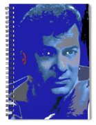 Tony Curtis Circa 1960 Color Added 2012 Spiral Notebook