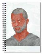 Tony Parker Spiral Notebook