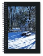 Too Cold To Picnic Spiral Notebook