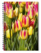 Too Many Tulips Spiral Notebook