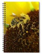 Too Much Pollen Spiral Notebook