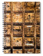 Drawers Spiral Notebook